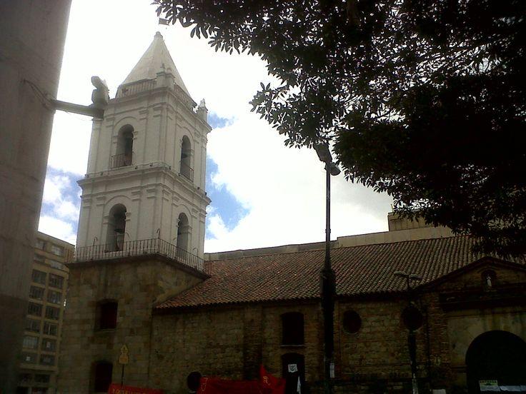Antiguo templo de san Francisco, Bogotá.