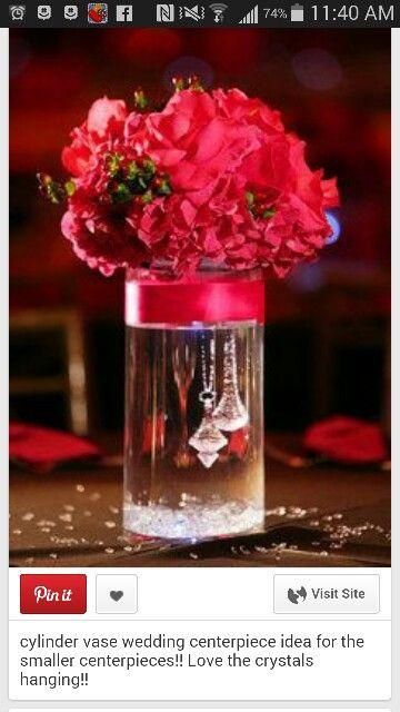 57 Best Clear Glass Vase Ideas Images On Pinterest Centerpiece Ideas Centerpieces And