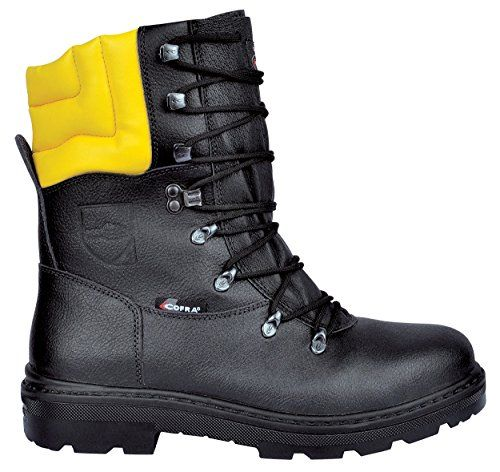 Cheap Cofra Cut Protection Boots Forstarbeiter Woodsman Men s Ski to work with These deadlocks also have A 255808211000 43 Black deals week