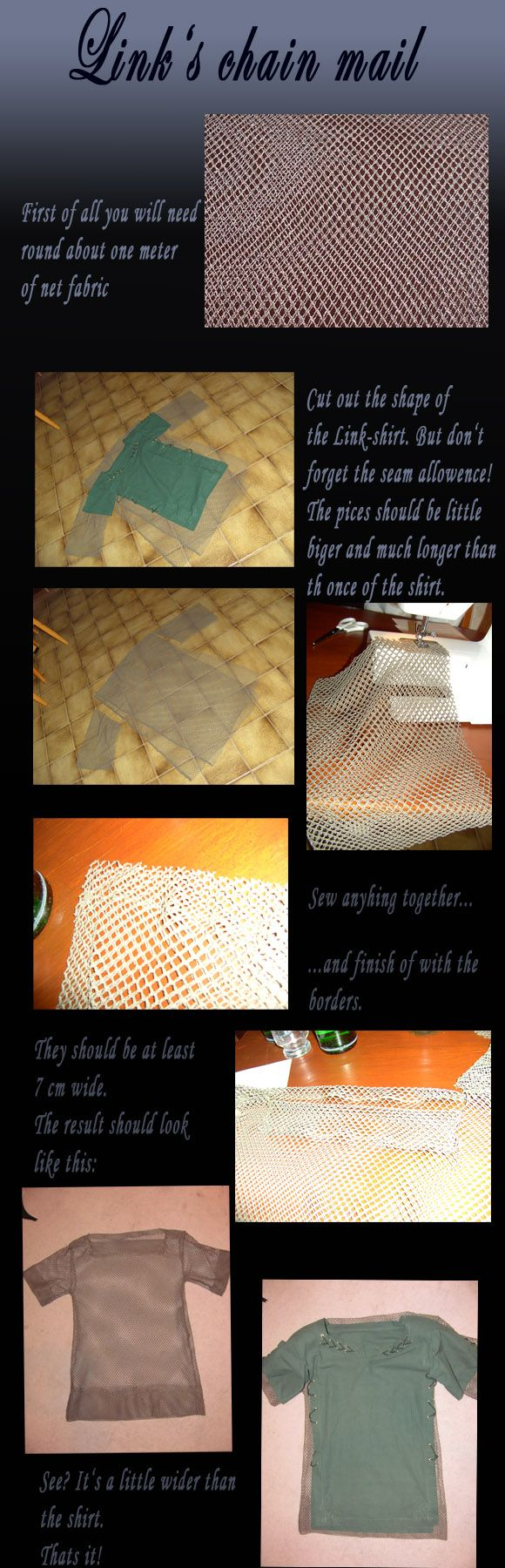 How to make Link's chain mail by *Eressea-sama on deviantART