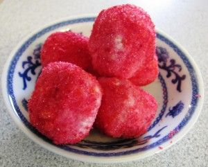 Ketogenic Snack Recipe: Jello Cream Cheese Balls - each serving of 2 balls, 1 carb / Ketogenic Woman
