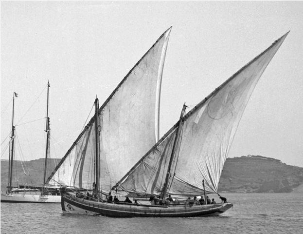 Caíque de Olhão (Algarve) | Embarcações Tradicionais | Portuguesas | Caique de Olhão | Dorna
