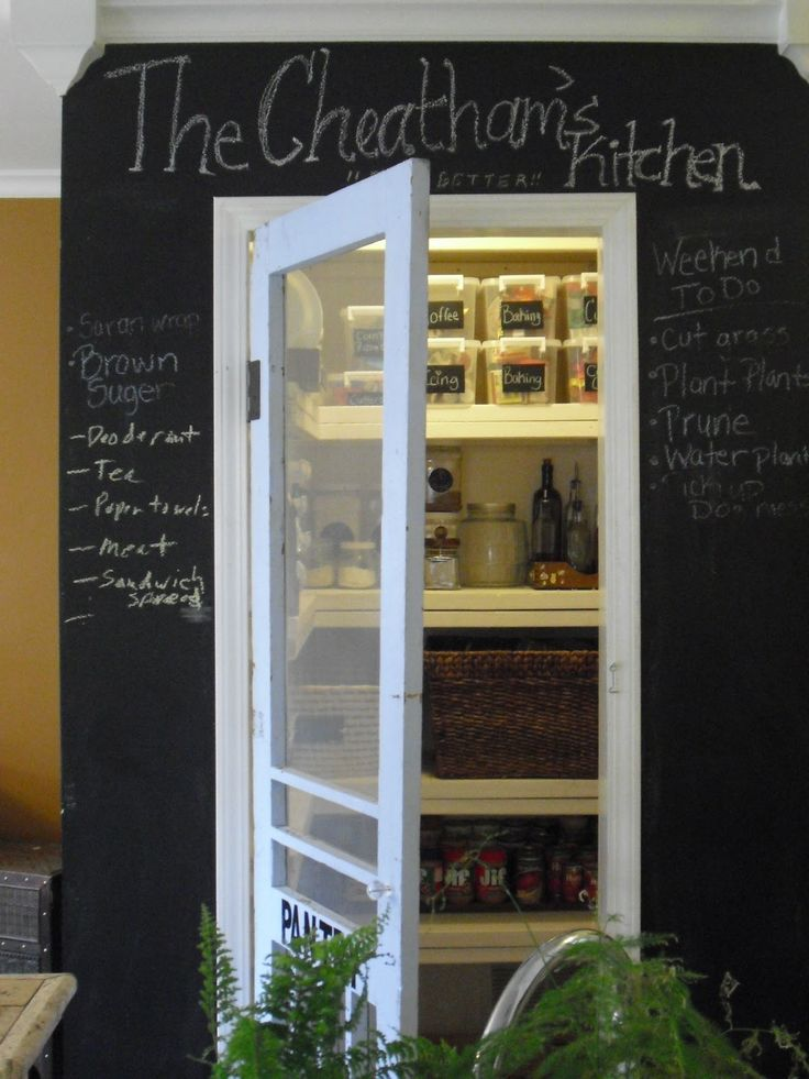 17 Best Ideas About Screen Door Pantry On Pinterest