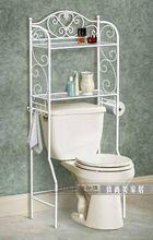 yeni, ferforje raf Avrupa- tarzı banyo tuvalet, tuvalet raf düzenleme almak için katmanlı(China (Mainland))
