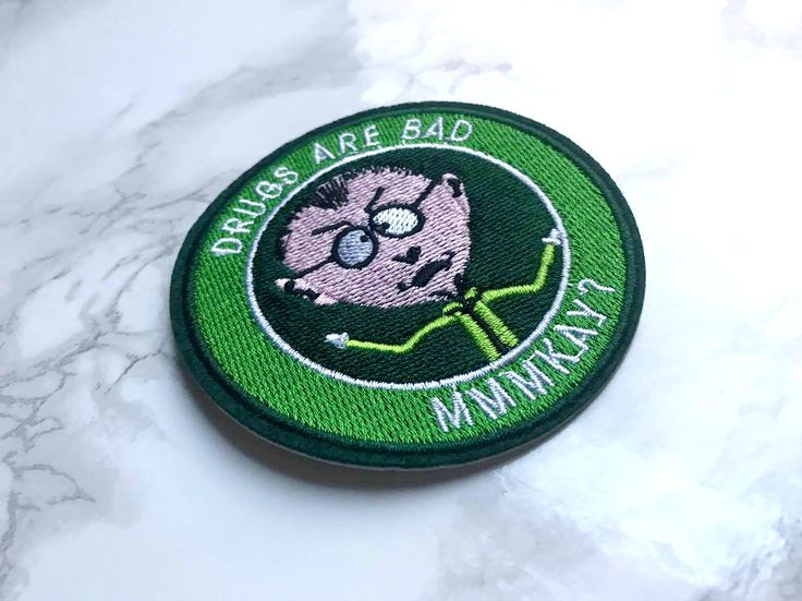 South Park Mr. Mackey geen drugs patch door MadameCatspurrr op Etsy https://www.etsy.com/nl/listing/529421636/south-park-mr-mackey-geen-drugs-patch