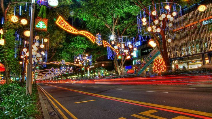Las 10 #calles más famosas del mundo |#OrchardRoad, #Singapur.