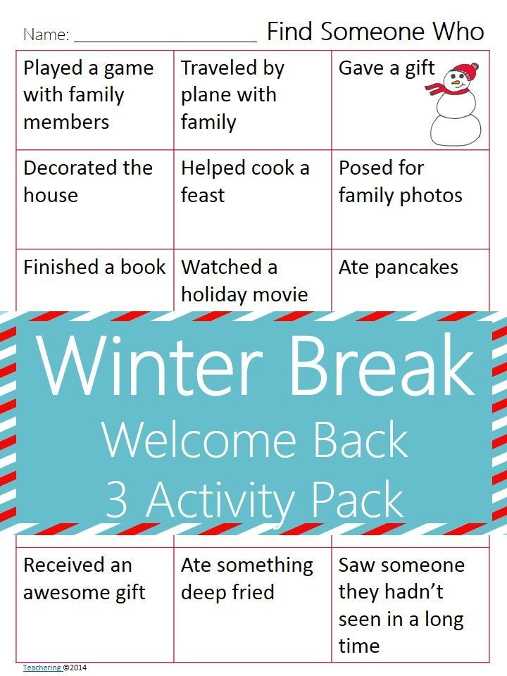 Share with your teacher friends to be their hero the day after winter break! These NO PREP activities for the day after the holiday break allow chatty students to share while working on a meaningful ELA activity. This after Christmas break activity gets students back in the school routine and gives us all a STRESS free start to the new year in the classroom. LOVE IT.