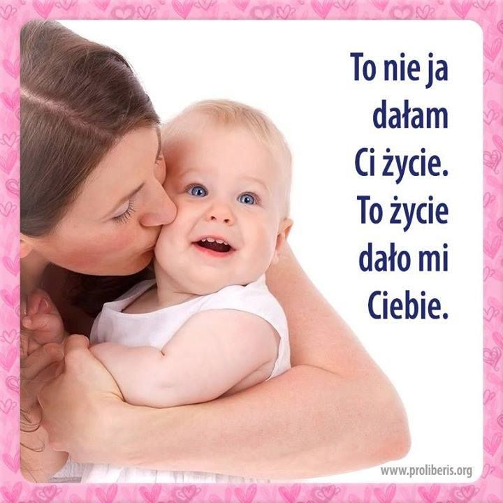 Pin By Magosia On Zycie Motto Mom Baby