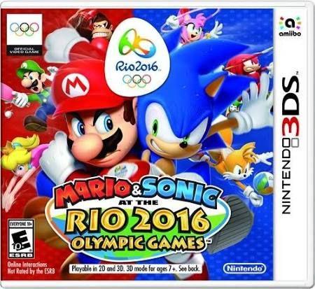 Nintendo Mario & Sonic at The Rio 2016 Olympic Games 3DS, E Everyone