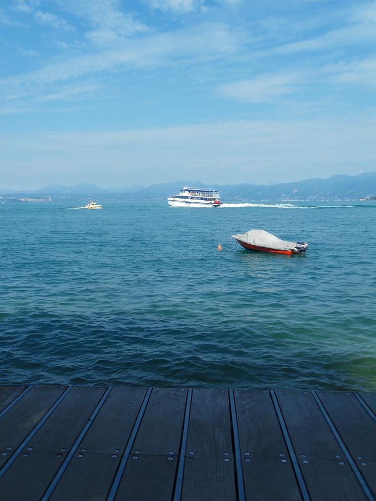Bardolino, Garda Lake, Italy : a peaceful moment