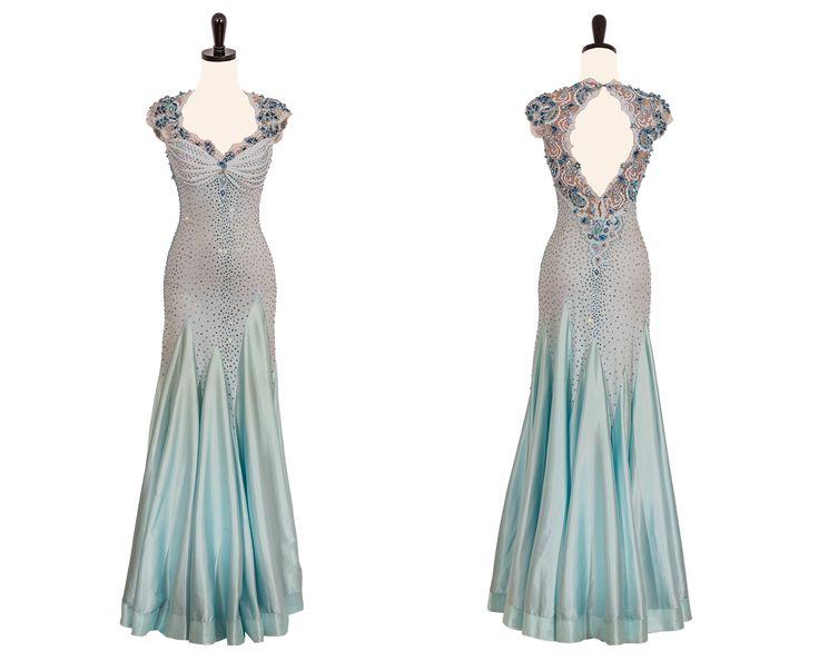 Ballroom Dress Patterns Uk: Ballroom dance latin tango dancing dress ...