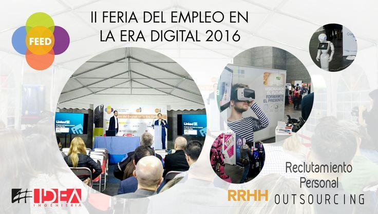 Muchas gracias a todos los que participaron en el #FEED2016 #Madrid #Empleo #Ingeniería