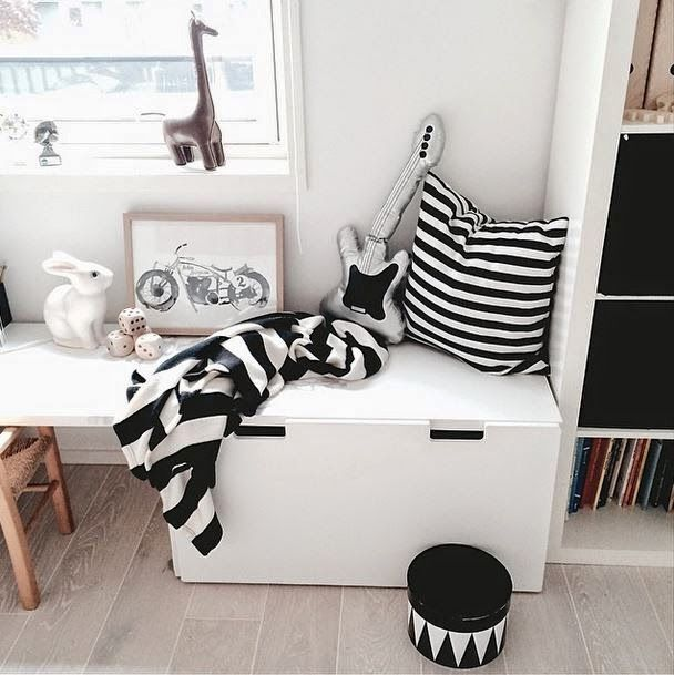 // the boo and the boy: eclectic kids' rooms from instagram