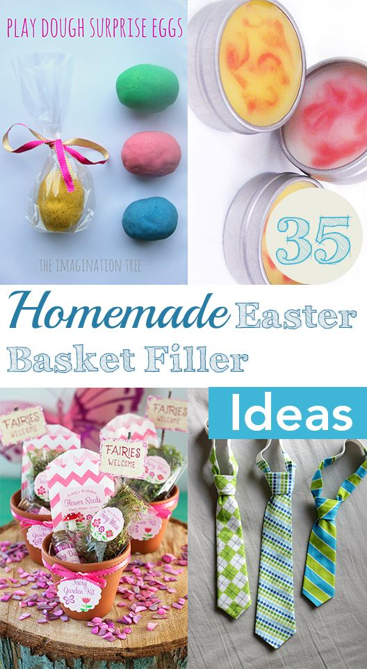 25 best ideas about homemade easter baskets on pinterest for Easter craft gift ideas