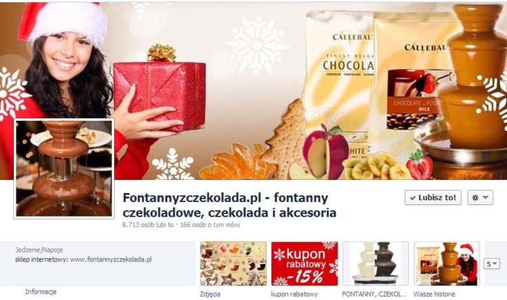 Świąteczny cover photo sklepu internetowego