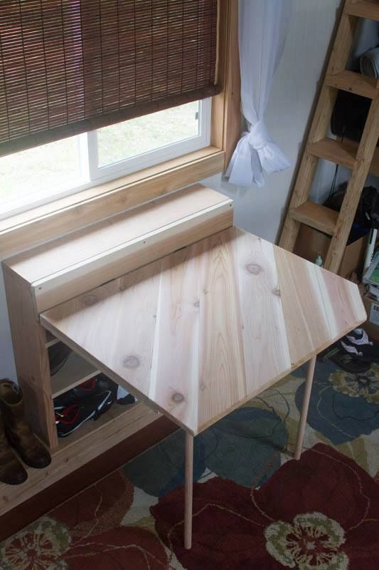 Drop Leaf Table With Storage Creative Space Saving
