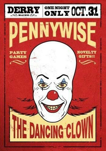 IT - Pennywise the dancing clown flyer