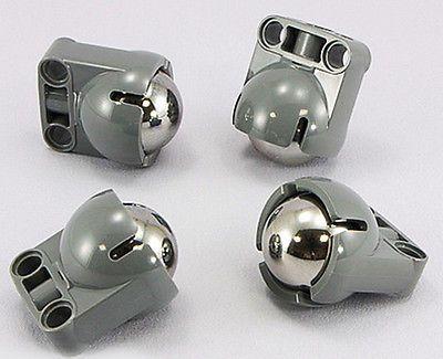 robot,technic,pivot,ev3,wheel,tire,caster,steel,ball Lego Steering Ball Socket