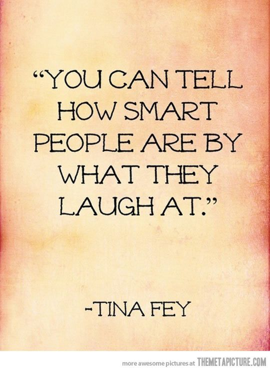 How to tell how smart people really are…