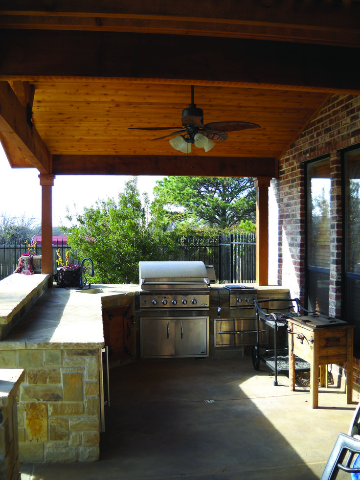 Rustic Outdoor Kitchen Designs Impressive Inspiration