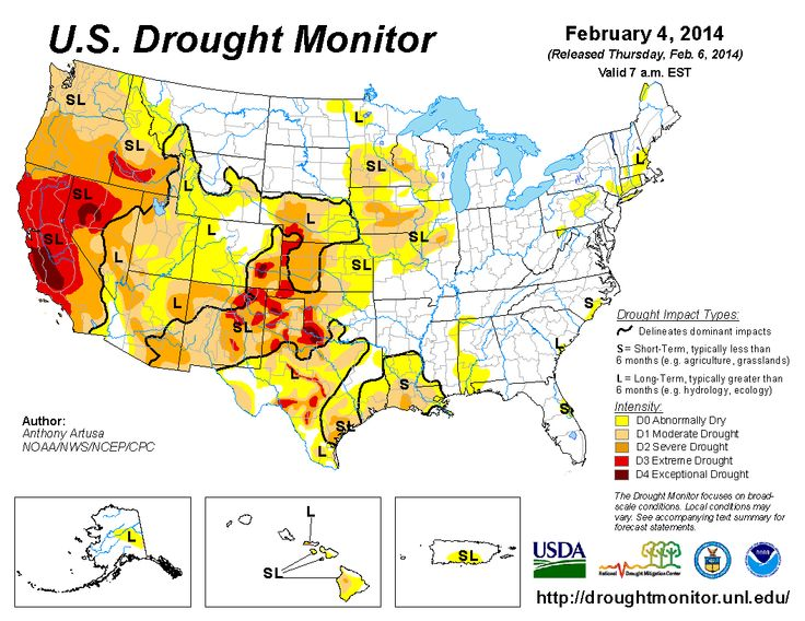 Disaster And Drought Information Usda