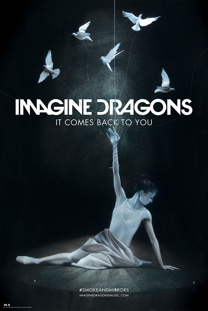 It Comes Back To You Exclusive Lithograph | Imagine Dragons