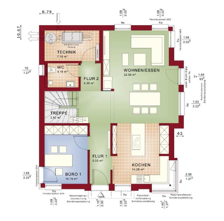 19 besten Grundrisse und Häuser Bilder auf Pinterest | Grundrisse ...
