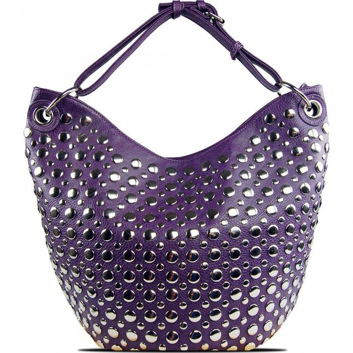 Susan Nichole Vegan Handbag Bella in Purple