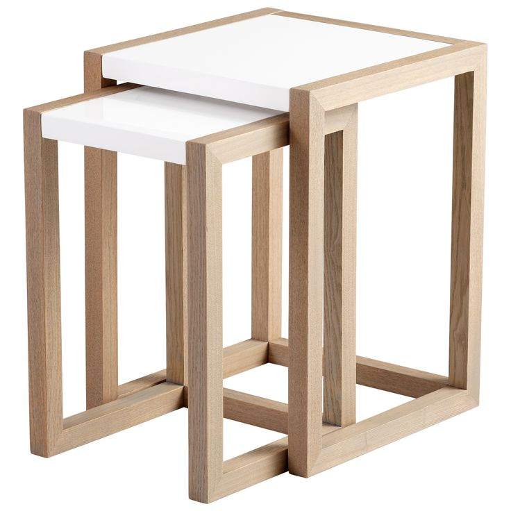 Great Scandinavian Inspired Nesting Tables #furniture #simple #multi Functional Pictures Gallery