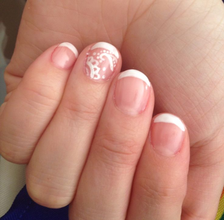 French nails árabes! Home made