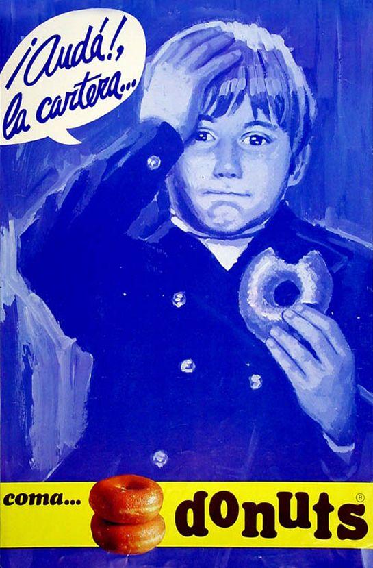 Vuelve el Donuts original: Vía Copy Creativo http://www.copycreativopublicitario.blogspot.com.es/2012/08/vuelve-el-donuts-original.html Más