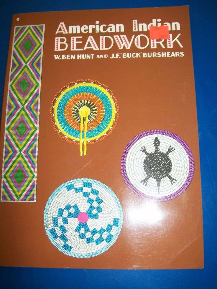 American Indian Beadwork by W. Ben Hunt & J F BURSHEARS Paperback Book (English)