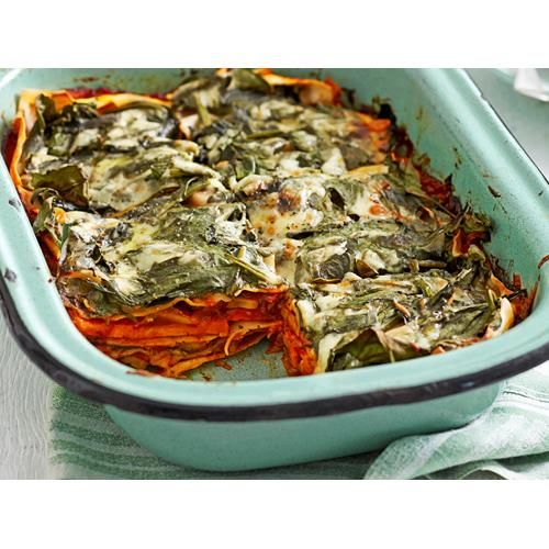 This vegetarian mushroom and kumara lasagne is so delicious, it will have the whole family going back for seconds.