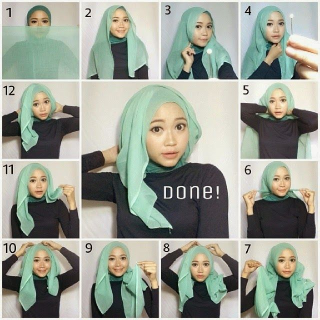 Gorgeous Step By Step Hijab Tutorial | HIJAB FASHION INSPIRATION