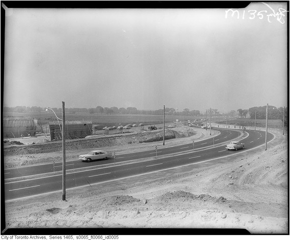 Don Valley Parkway. 1961