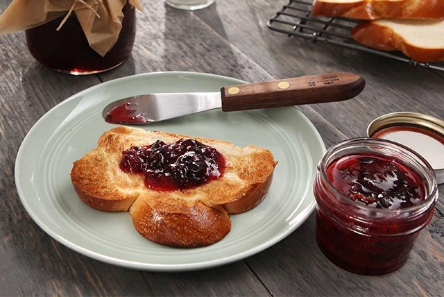 Making this easy, no-cook freezer jam is a great way to preserve sweet, ripe cherries for year-round enjoyment.