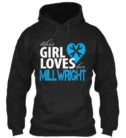 """**LIMITED EDITION** MILLWRIGHT GIRL, """"This Girl Loves Her Millwright"""" sweater #teespring #millwright #millwrightgf"""