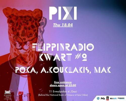Event poster @ Pixi, Athens