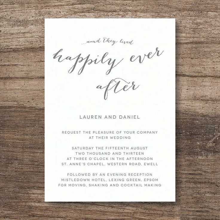 After The Wedding Invitations: 21 Best Images About Fairy Tale Wedding On Pinterest