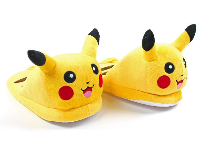 Pikachu Slippers: Choose Pikachu to keep your feet cozy and warm!