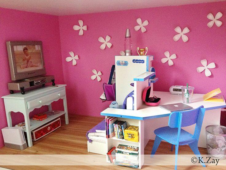 American Girl Chrissa Craft Table