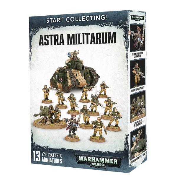 Amazon.com: Start Collecting! Astra Militarum Warhammer ...