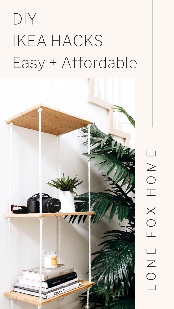 Diy Urban Outfitters Room Decor Affordable Super Easy Lone Fox In 2020 Diy Ikea Hacks Ikea Diy Ikea Hack Kids Bedroom