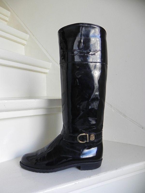 Pertti Palmroth cavallerie lak laarzen boots bottes (2130)