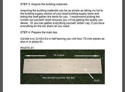 Los planes para crear un recinto de seguridad de cubiertos de 6' X 6' Caja de Arena. parque infantil equipo.