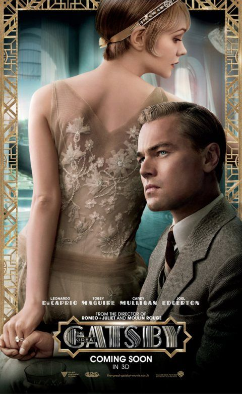 The Great Gatsby Movie 2013.  This version was great, but I still prefer the '74 version.