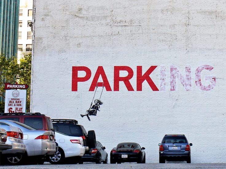 banksy - parking - park