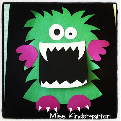 Miss Kindergarten: Halloween Activities - obsessed with this 'lil guy!