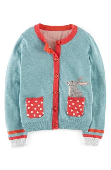Mini Boden 'Pet' Cardigan (Toddler Girls, Little Girls & Big Girls) available at #Nordstrom