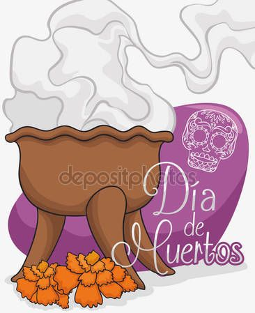 "Traditional Copal's Incense Offering to Celebrate ""Dia de Muertos"""